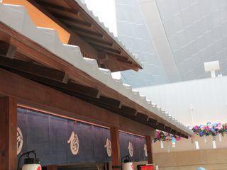 羽田空港 江戸小路の屋根2_c0223192_22444707.jpg