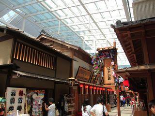 羽田空港 江戸小路の屋根2_c0223192_22450579.jpg