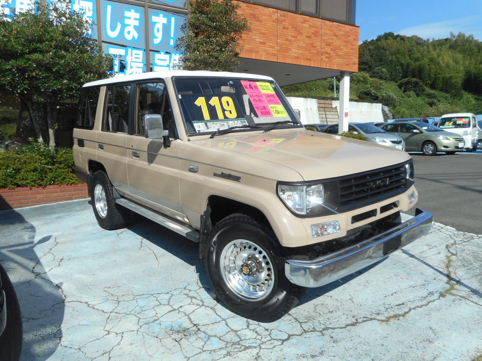 78プラド レストア車 2.4Lナローボディ ベージュツートーンルーフ_c0267693_16574462.jpg