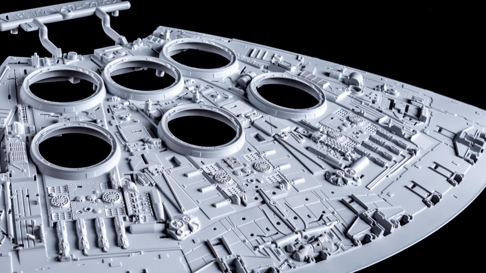 """「模型で作った模型の模型」、バンダイのミレニアムファルコンが持つ\""""パーフェクト\""""の意味【前編】_b0029315_00134800.jpg"""