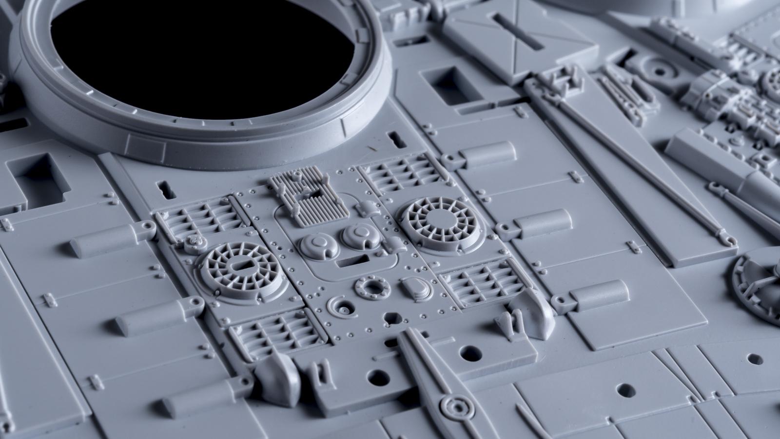 """「模型で作った模型の模型」、バンダイのミレニアムファルコンが持つ\""""パーフェクト\""""の意味【前編】_b0029315_00153996.jpg"""