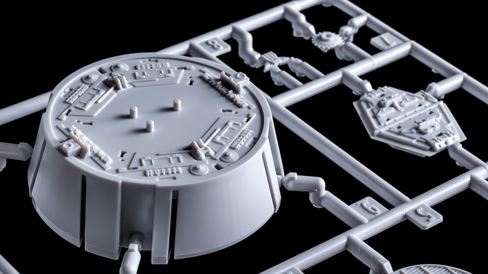"""「模型で作った模型の模型」、バンダイのミレニアムファルコンが持つ\""""パーフェクト\""""の意味【前編】_b0029315_00301394.jpg"""