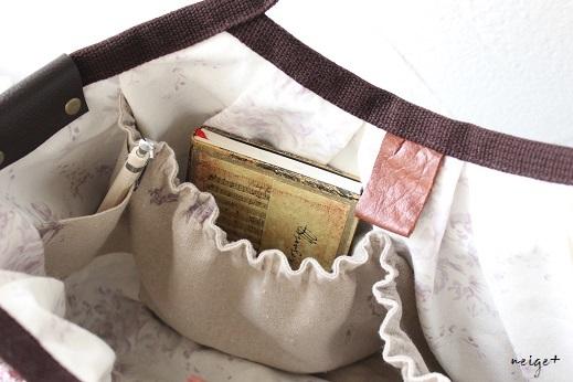 はぎれを楽しむ手作りバッグ♪布耳がおしゃれな秋冬グラニー&お知らせ_f0023333_21353619.jpg