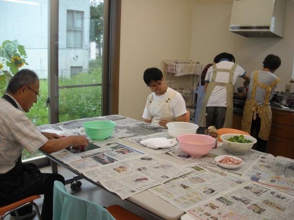 調理実習・農作業 9月_a0115956_14243571.jpg