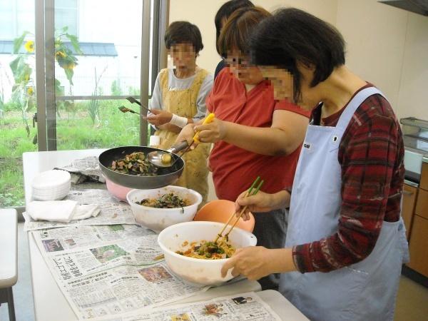 調理実習・農作業 9月_a0115956_14263359.jpg