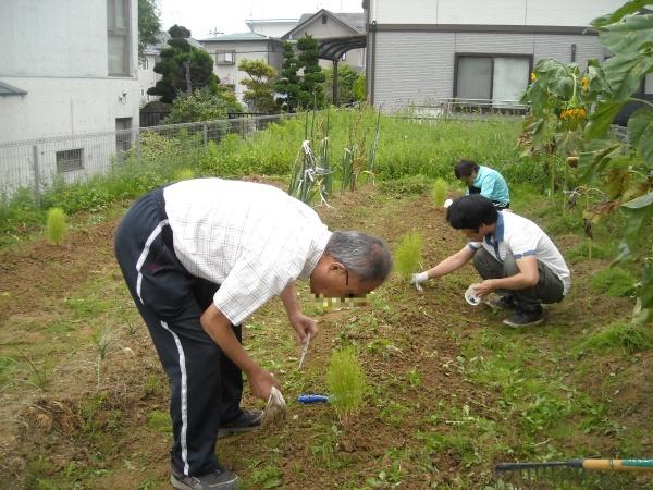 調理実習・農作業 9月_a0115956_14393772.jpg