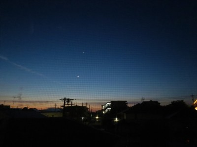 ⋘月と宵の明星⋙_a0357790_21044100.jpg