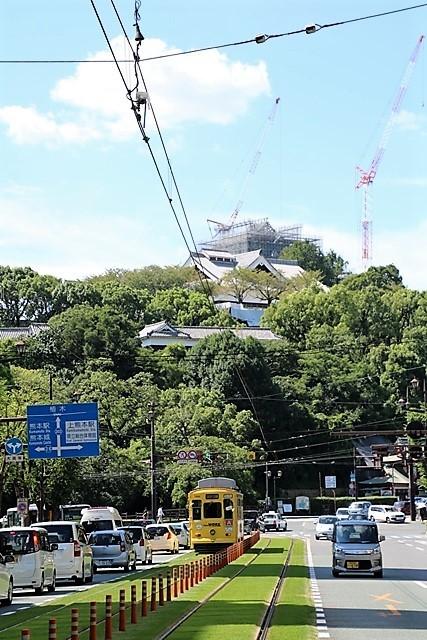 藤田八束の鉄道写真@熊本電鉄のくまモン列車、熊本の人たちの愛情を一身に浴びてくまモン電車は走ります_d0181492_21183176.jpg