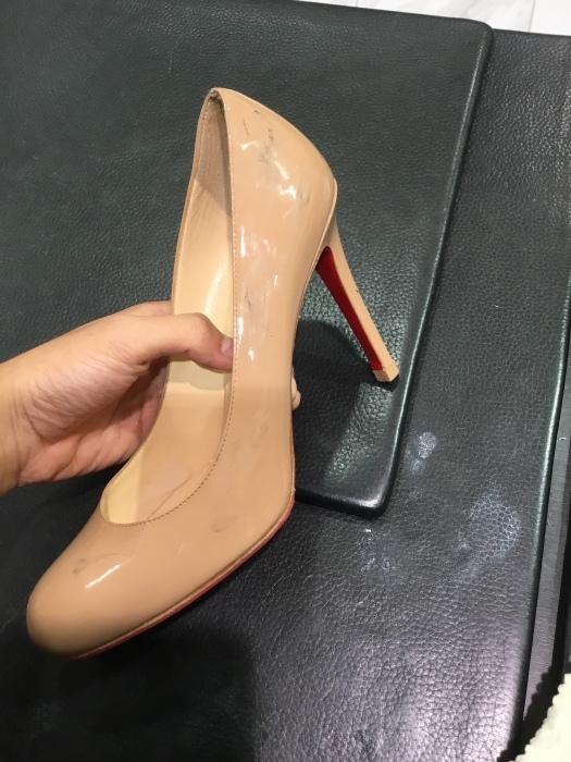 ルブタン エナメル靴のお手入れ_b0226322_14124894.jpg