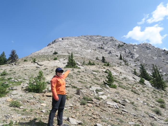 ロッキーで登頂入門編。Mt バルディ登頂_d0112928_04432130.jpg