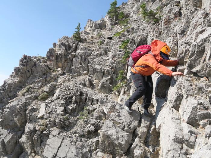 ロッキーで登頂入門編。Mt バルディ登頂_d0112928_04522920.jpg