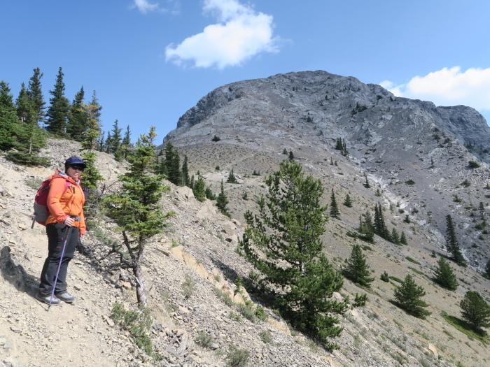 ロッキーで登頂入門編。Mt バルディ登頂_d0112928_04534635.jpg