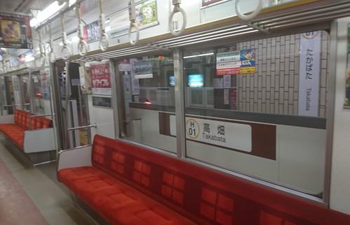 東山線  高畑駅へ_f0373339_12462566.jpg
