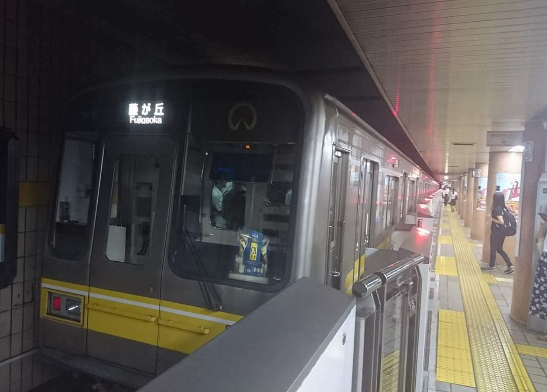 東山線  高畑駅へ_f0373339_12462740.jpg