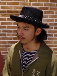 HATの男はカッコいい。_d0100143_22382312.jpg
