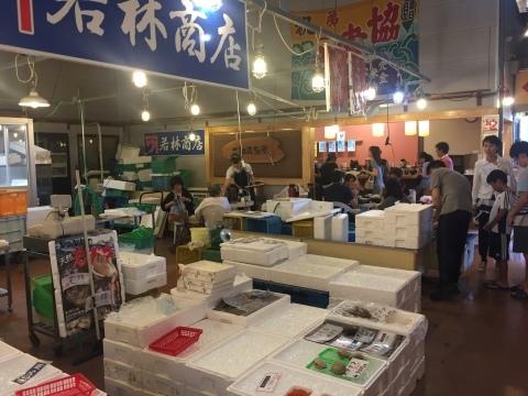 鳥取港海鮮産物市場かろいち  若林商店 ご馳走空間_e0115904_21594532.jpg