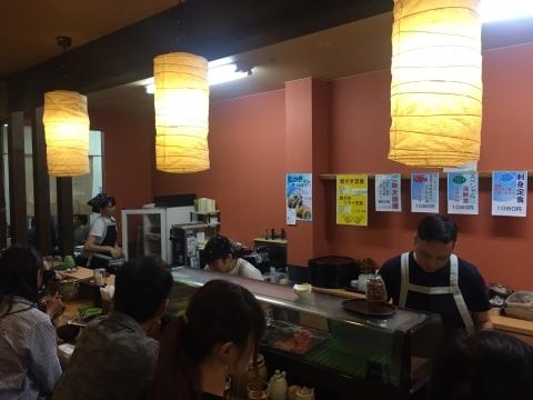 鳥取港海鮮産物市場かろいち  若林商店 ご馳走空間_e0115904_22303350.jpg