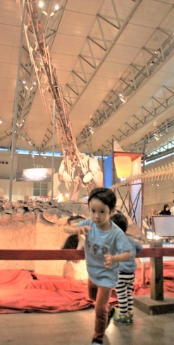 ギガ恐竜展2017 -地球の絶対王者のなぞ-@幕張メッセ_f0006713_07133318.jpg
