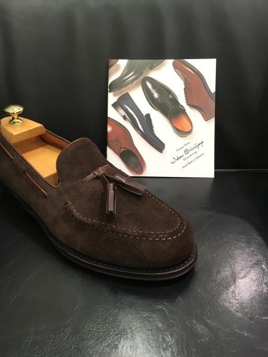 紳士靴売場今季はタッセルローファーが多めでしょうか_b0226322_11220001.jpg