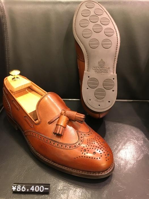 紳士靴売場今季はタッセルローファーが多めでしょうか_b0226322_11220268.jpg