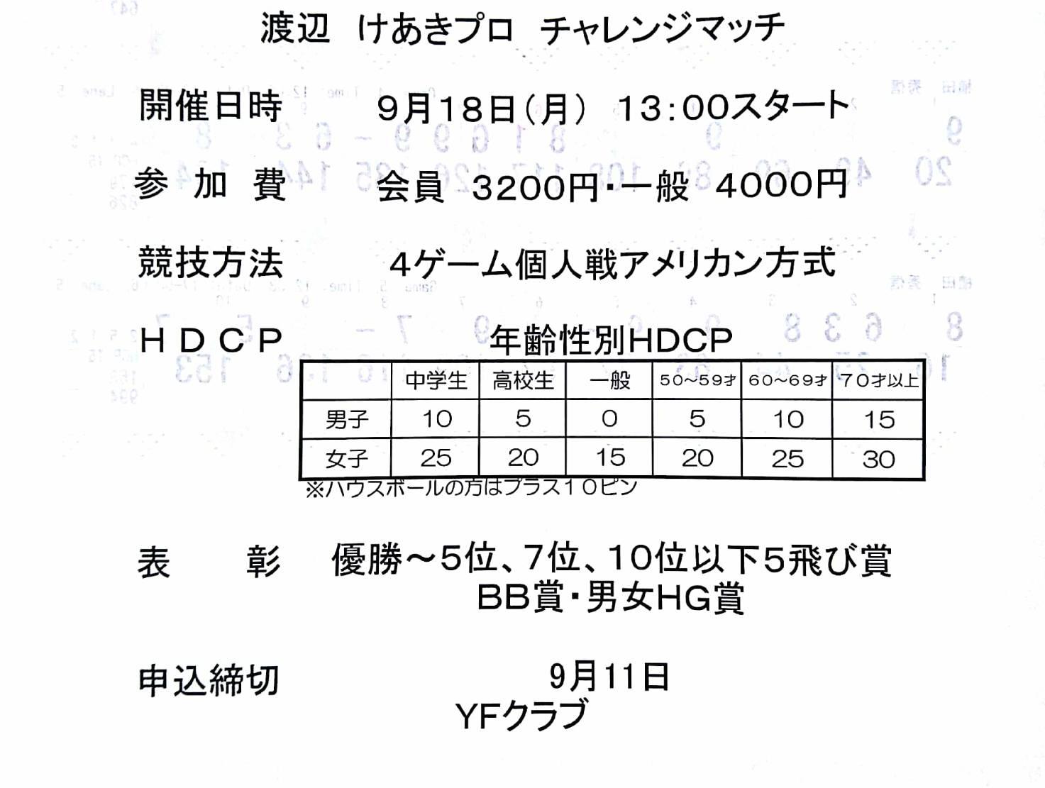 チャレンジスケジュール9月追加です❗️シーサイドボウル高松さんでのチャレンジ✨_b0259538_16371703.jpg