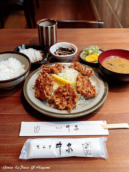 料理の風景 豚の唐揚げ_b0133053_00293516.jpg