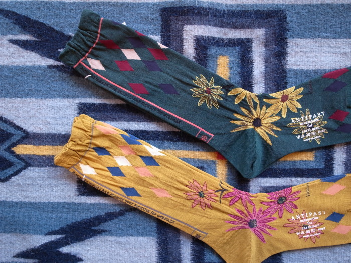 ANTIPAST 2017AW BOTANICAL Ⅵ SOCKS_f0111683_12460008.jpg