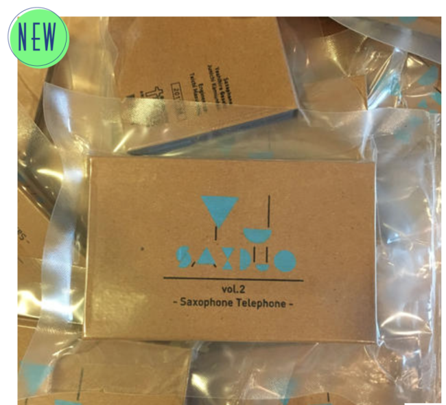 YJ SAXDUO『vol.2 Saxophone telephone』 9/7~発売開始_e0230090_22372129.png