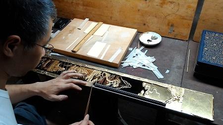 仏壇のすす洗い・修繕 その5 2017.09.09_c0213599_22043216.jpg