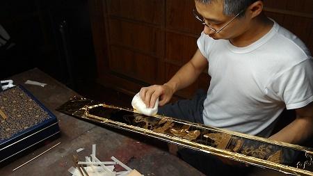 仏壇のすす洗い・修繕 その5 2017.09.09_c0213599_22045477.jpg