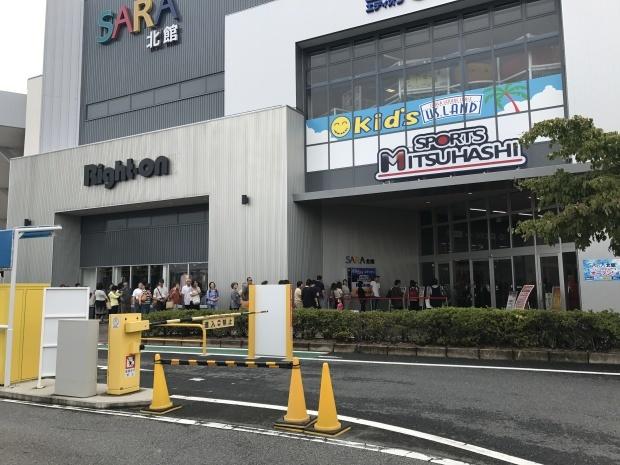 SPORTS MITSUHASHI様 草津エイスクエア店OPEN!_f0300358_17581081.jpg
