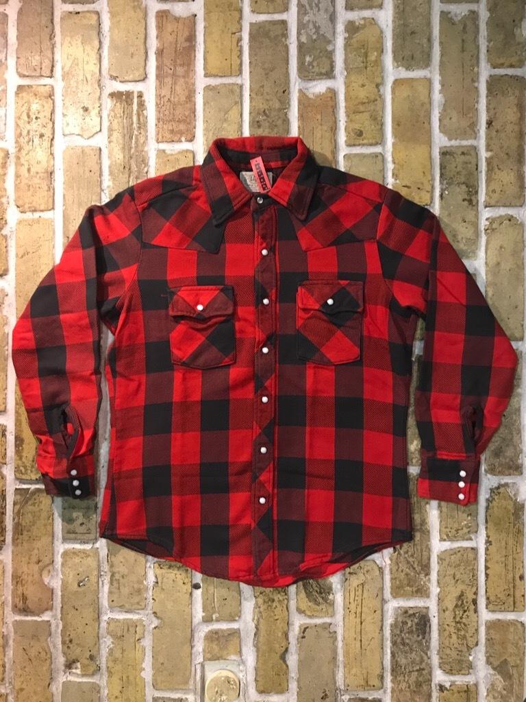 神戸店9/9(土)SSAスーペリア入荷! #5 Made in U.S.A. Flannel Shirt!!!_c0078587_12482745.jpg