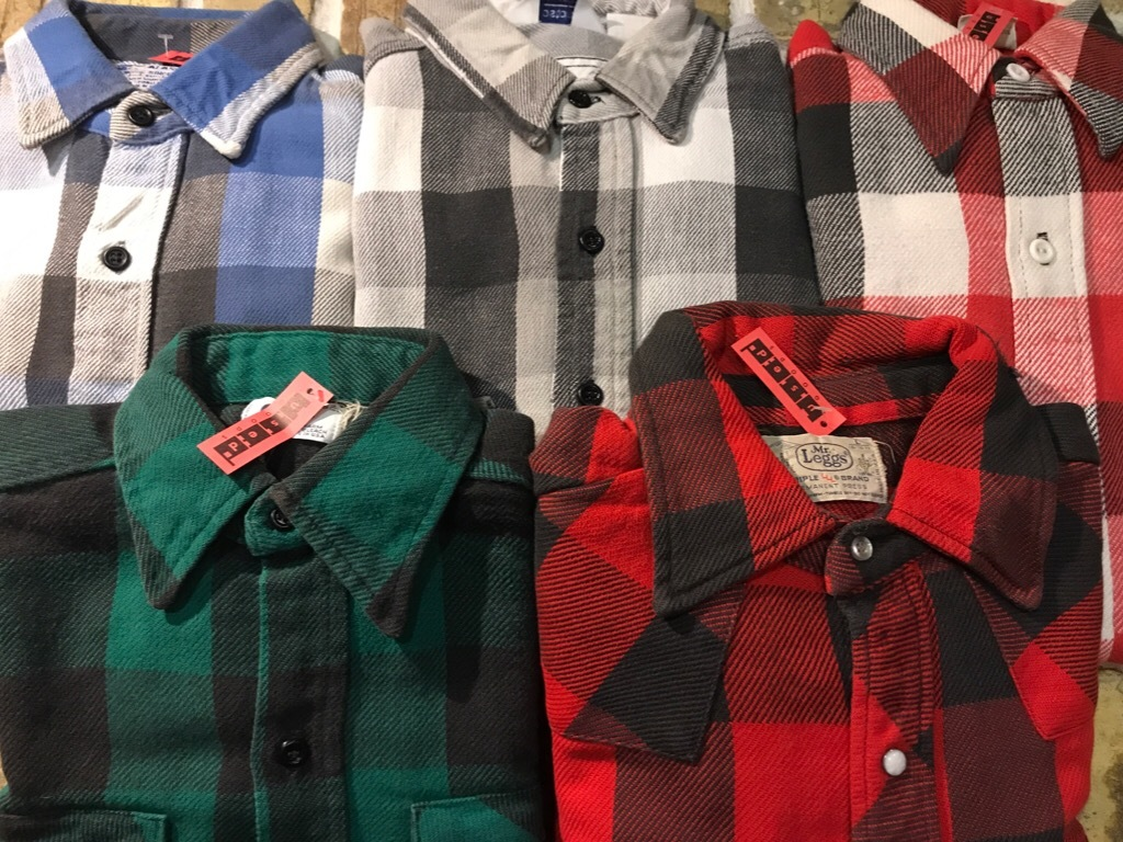 神戸店9/9(土)SSAスーペリア入荷! #5 Made in U.S.A. Flannel Shirt!!!_c0078587_12482844.jpg