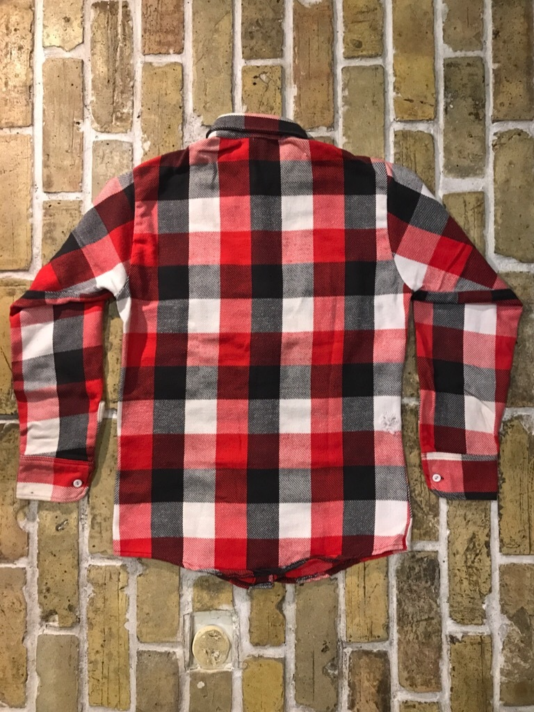 神戸店9/9(土)SSAスーペリア入荷! #5 Made in U.S.A. Flannel Shirt!!!_c0078587_12504829.jpg