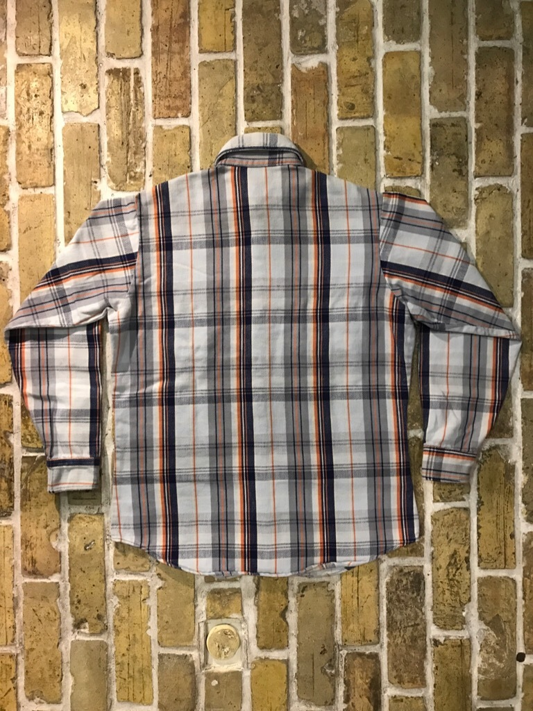 神戸店9/9(土)SSAスーペリア入荷! #5 Made in U.S.A. Flannel Shirt!!!_c0078587_12542945.jpg