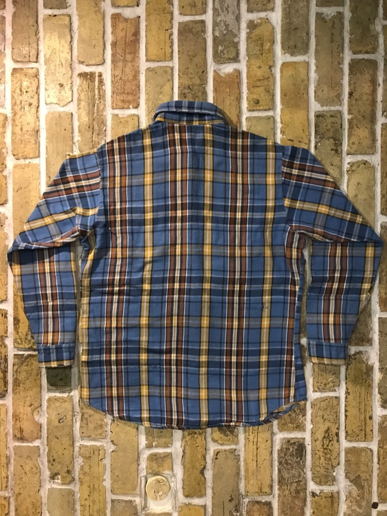 神戸店9/9(土)SSAスーペリア入荷! #5 Made in U.S.A. Flannel Shirt!!!_c0078587_12551163.jpg