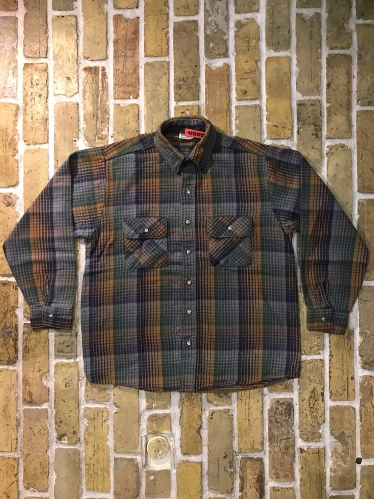 神戸店9/9(土)SSAスーペリア入荷! #5 Made in U.S.A. Flannel Shirt!!!_c0078587_12563936.jpg