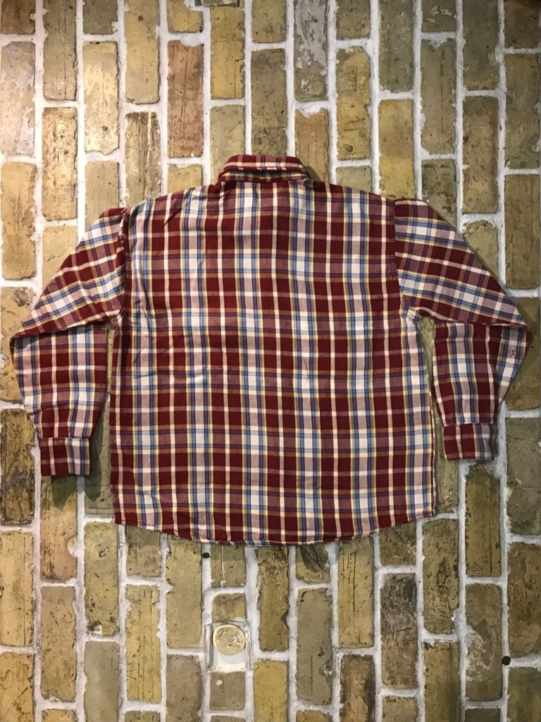 神戸店9/9(土)SSAスーペリア入荷! #5 Made in U.S.A. Flannel Shirt!!!_c0078587_12572328.jpg