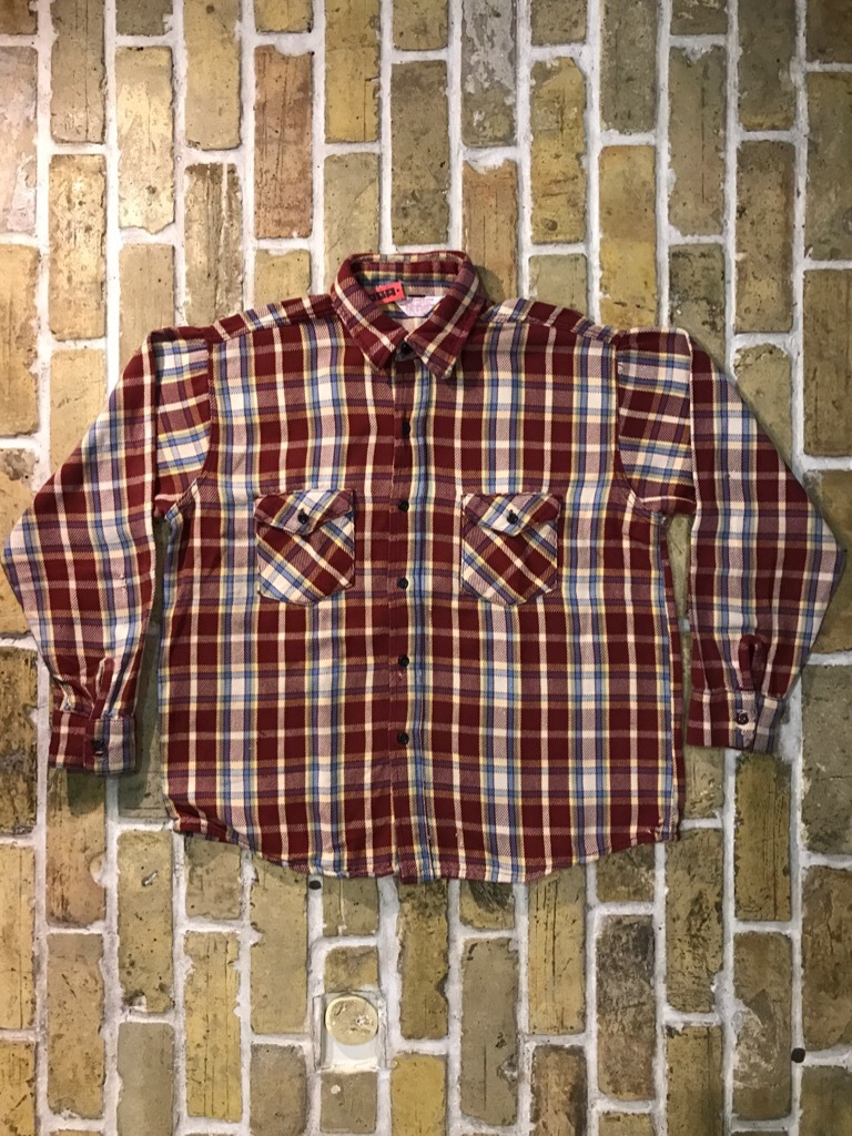 神戸店9/9(土)SSAスーペリア入荷! #5 Made in U.S.A. Flannel Shirt!!!_c0078587_12572363.jpg