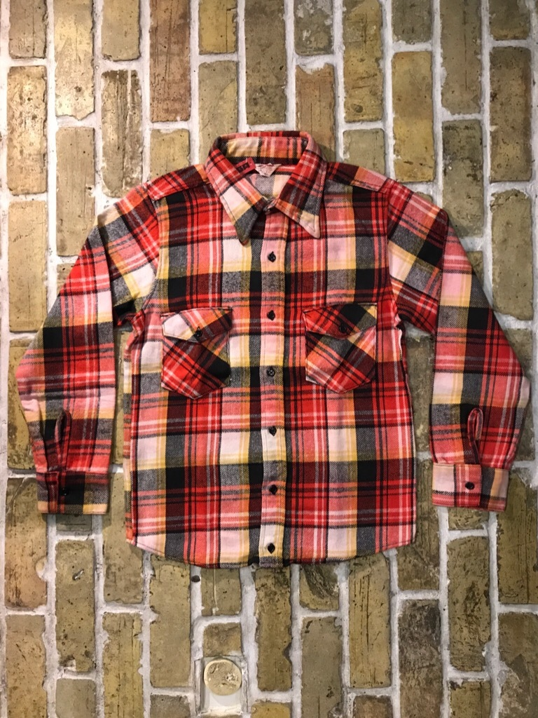 神戸店9/9(土)SSAスーペリア入荷! #5 Made in U.S.A. Flannel Shirt!!!_c0078587_12580876.jpg