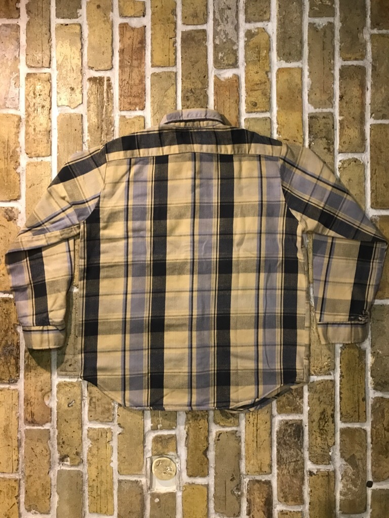 神戸店9/9(土)SSAスーペリア入荷! #5 Made in U.S.A. Flannel Shirt!!!_c0078587_13000001.jpg