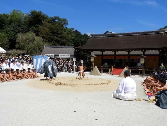 上賀茂神社 重陽の神事_e0048413_13544706.jpg