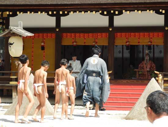 上賀茂神社 重陽の神事_e0048413_13545499.jpg