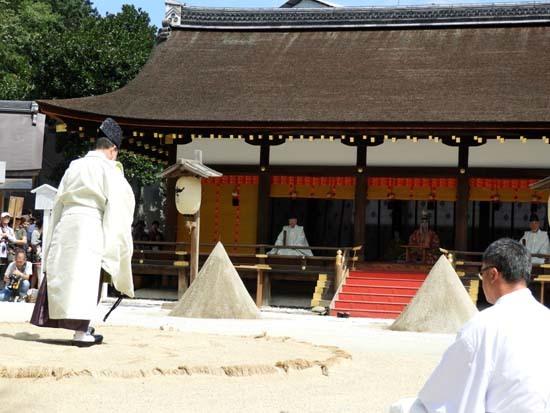上賀茂神社 重陽の神事_e0048413_13552154.jpg