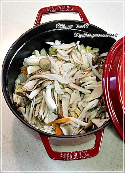 豚の生姜焼き弁当ときのこたっぷり炊き込みご飯♪_f0348032_18374811.jpg