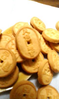 戦国銘菓~古銭クッキー_b0145843_12350051.jpg
