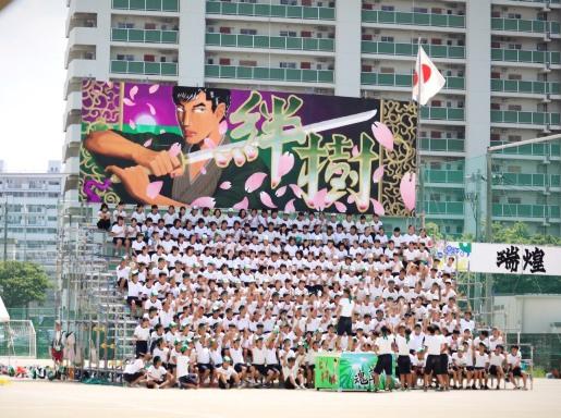 高校の体育祭_b0214473_19243185.jpg