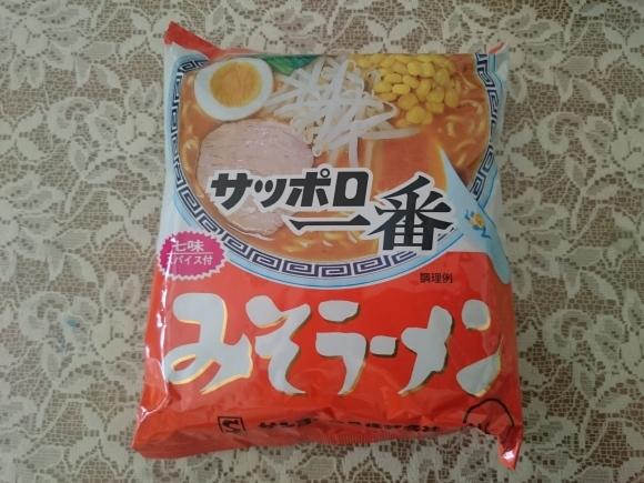 9/10 サンヨー食品サッポロ一番みそラーメン¥64 + 中延園食品もやし¥9_b0042308_16085648.jpg