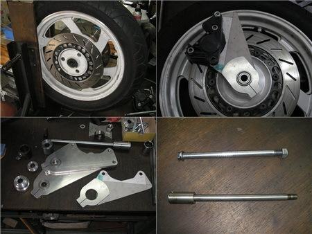BMW サイドカー用アールズフォーク製作_e0218639_15403005.jpg