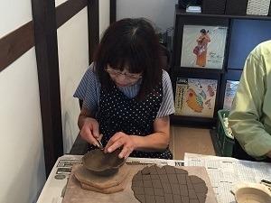 第45回むくのき俱楽部陶芸教室_f0233340_13351307.jpg